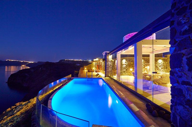 Cavo Ventus Luxury Villa, location de vacances à Akrotiri