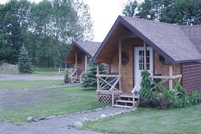 Front of One of Our 12 Cabins