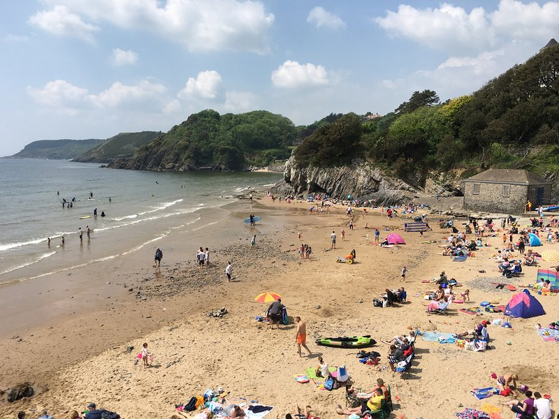 Caswell Bay Chalet, holiday rental in Swansea County