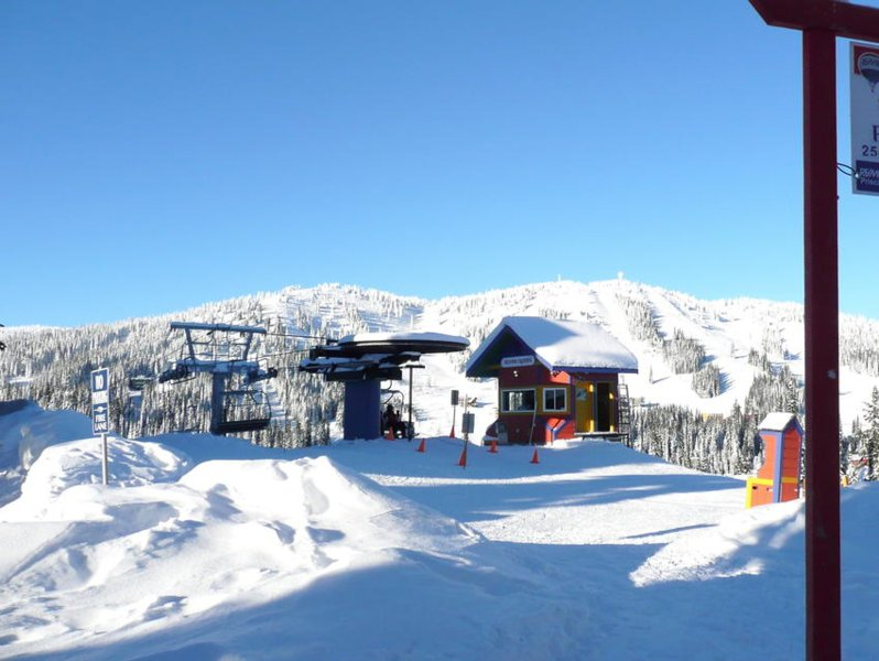Throw a Snowball to the Top of the Silver Queen Chair.  10/10 Ski Access!