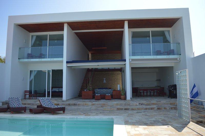 Frontal bild av Casa Favorito