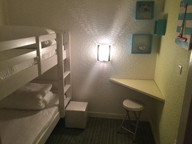 chambre-alcôve lits superposés 90x190