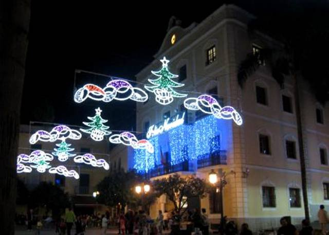 christmas in Almunecar