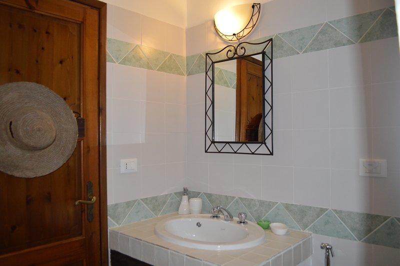 Baño de sala verde