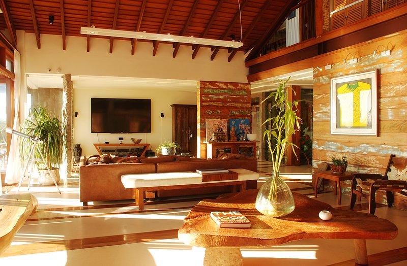 sala de estar cubierta