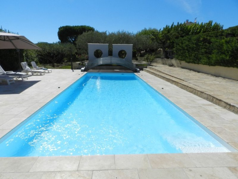 heated pool in September and October