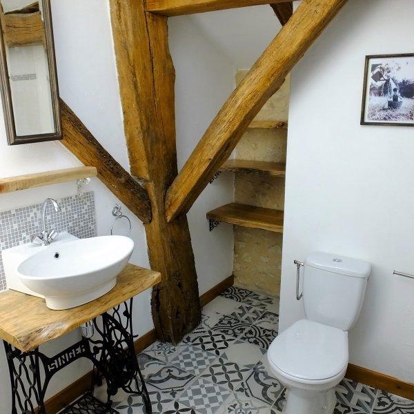 House bathroom.