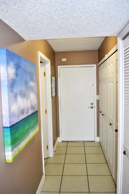 Hallway going into Condo