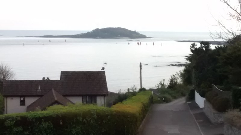 A view from the walk into Looe
