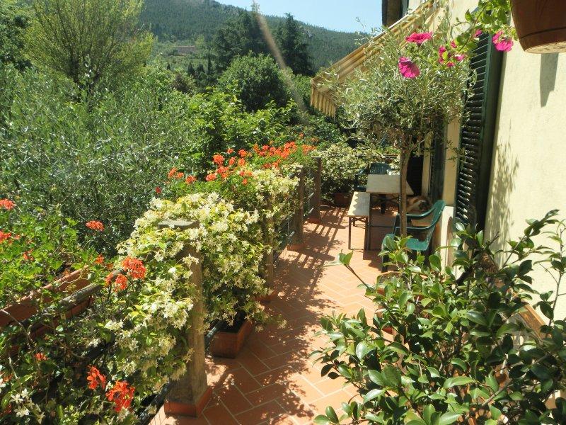 'La Verruca' sulla sponda del torrente., location de vacances à La Gabella