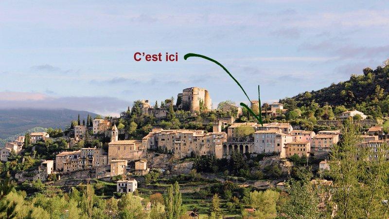 Petite maison dans village provençal et thermal, vacation rental in Sault