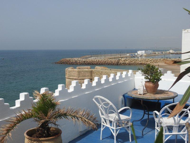Exceptionelle maison en front de mer dans la medinah, alquiler de vacaciones en Región de Tánger-Tetuán