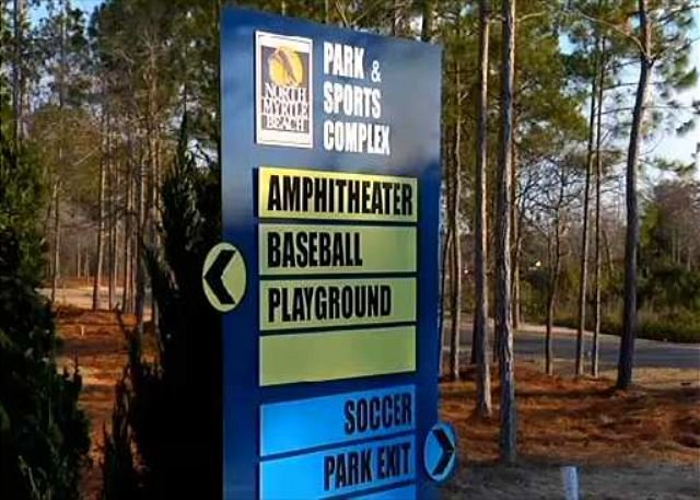 New to North Myrtle, Sports Complex hosting many tournaments.