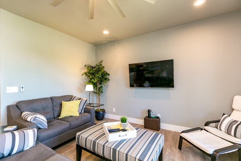Sofá, muebles, árbol, silla, cama