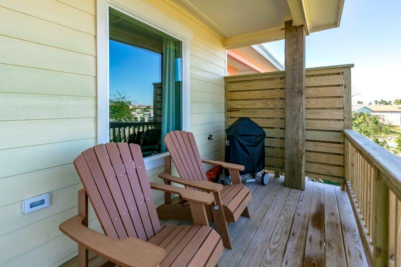 Silla, muebles, cubierta, porche, Interior