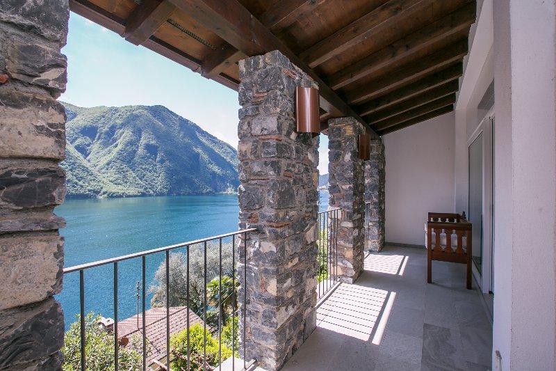 View on Lake Lugano