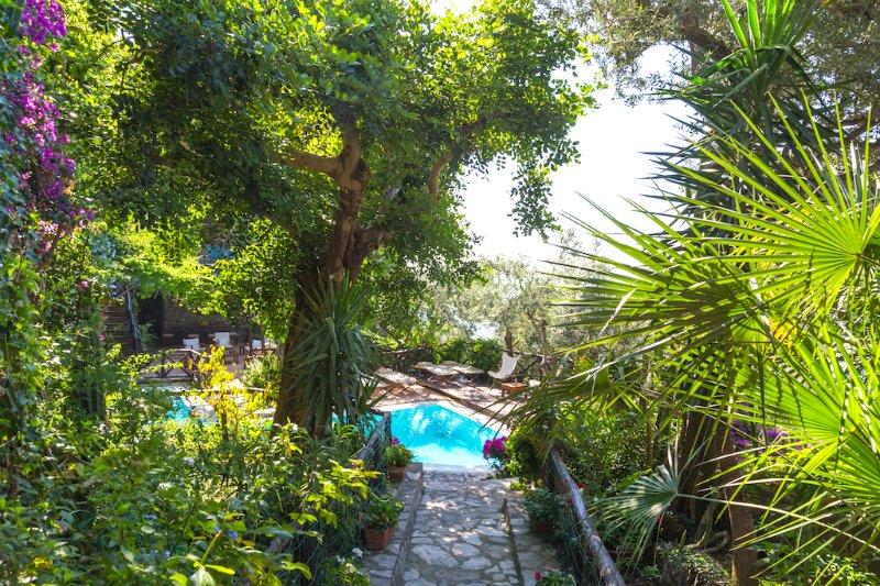 Villa Perla del Mare, Ferienwohnung in Positano