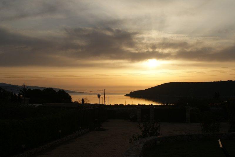 Sea views, dawn
