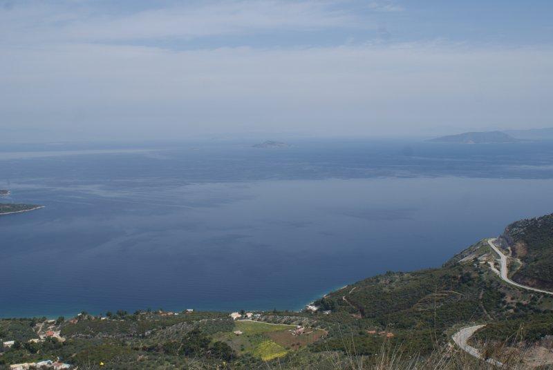 Panoramic views, towards Ermioni Villas