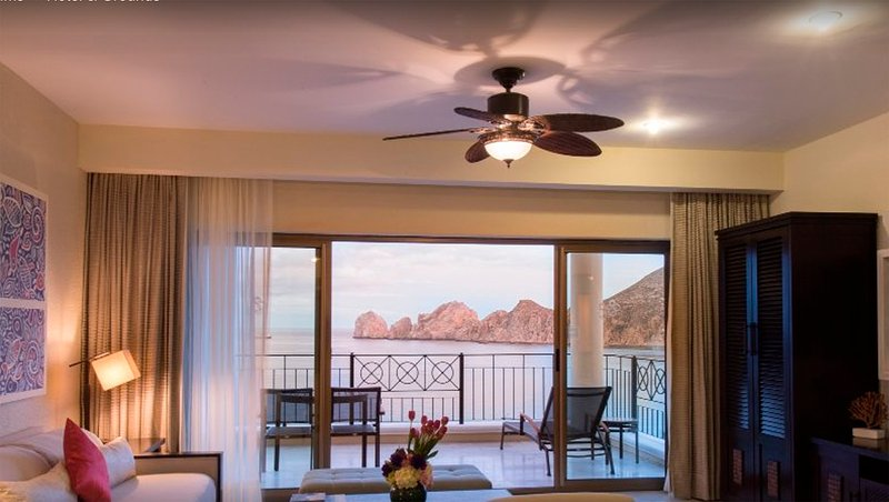 Spacious rooms with view of the ocean and beach. Each room has a view of the ocean