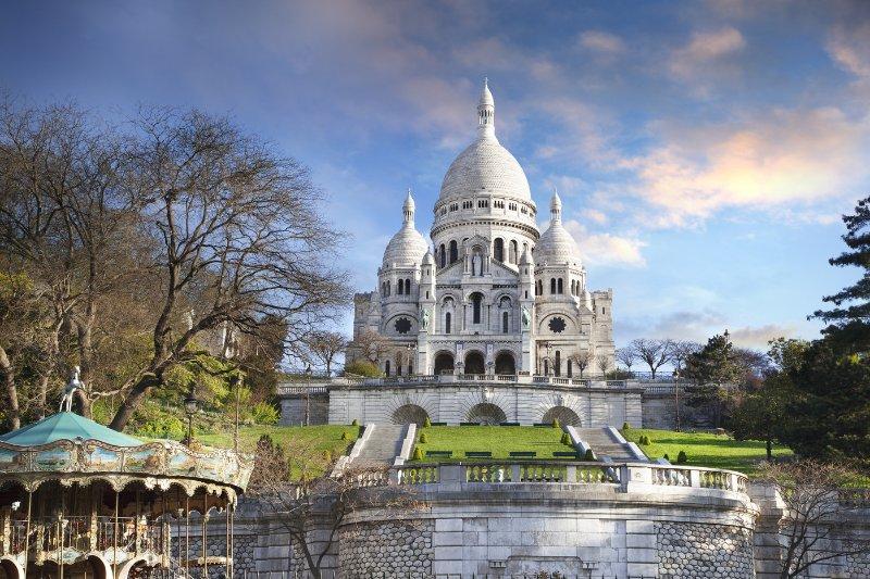 Sacre Coeur, Montmartre, 20mn por el transporte