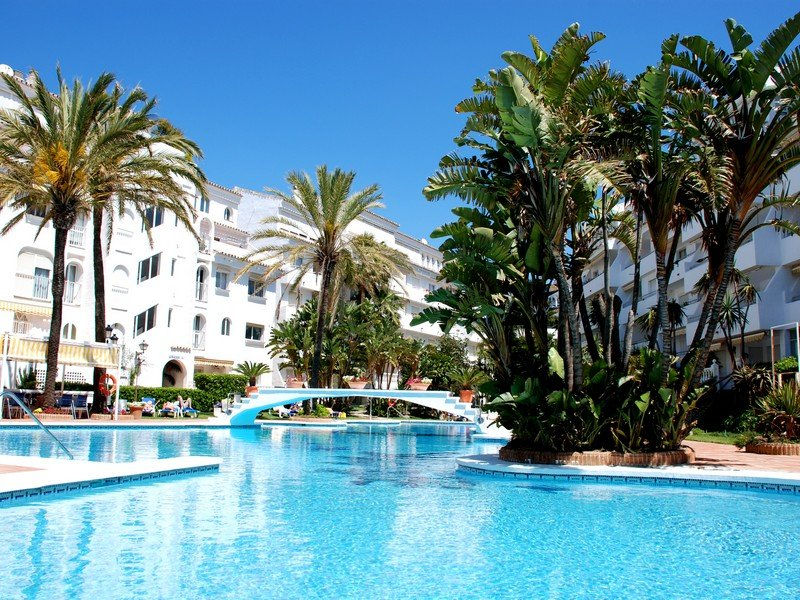 The main pool at Club Playa Real