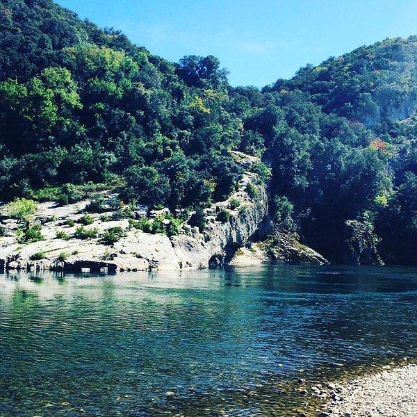 The river Gardon