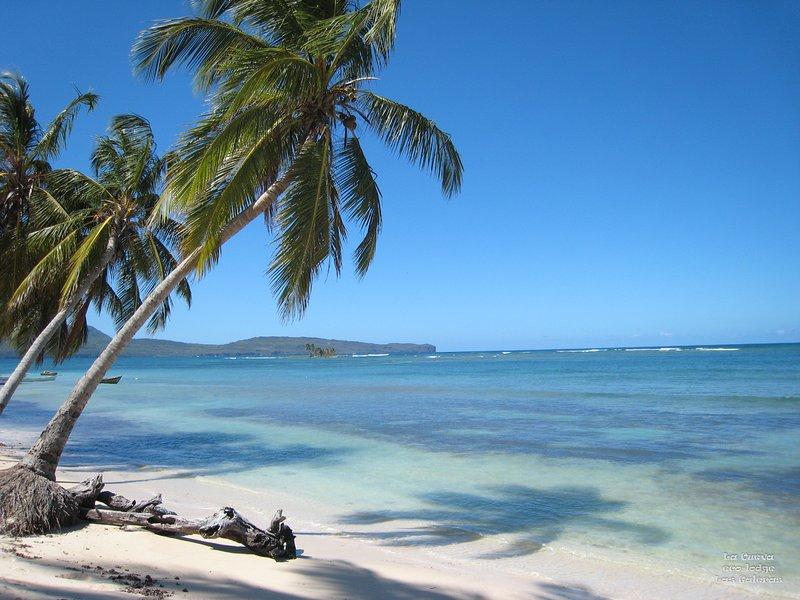 Playa Grande Las Galeras (5 min a pé da casa)