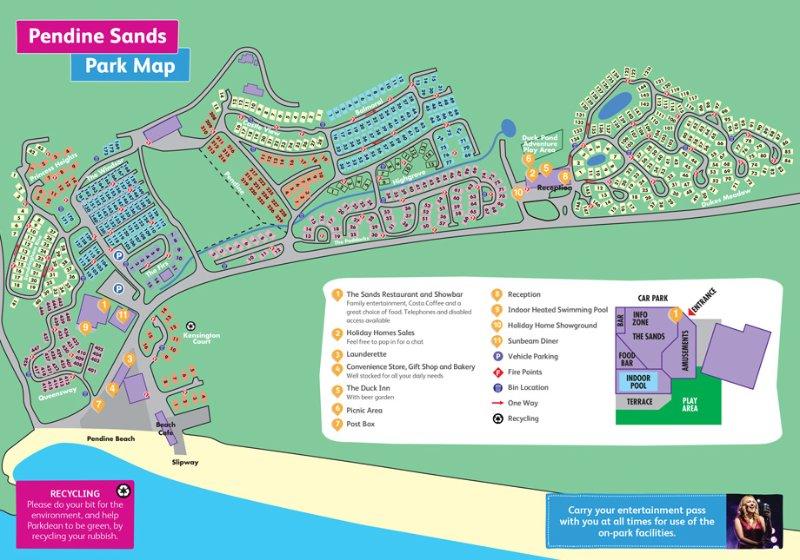 Pendine Sands Map Pendine Sands Ann & Davids Private Caravan Rental   UPDATED 2019  Pendine Sands Map