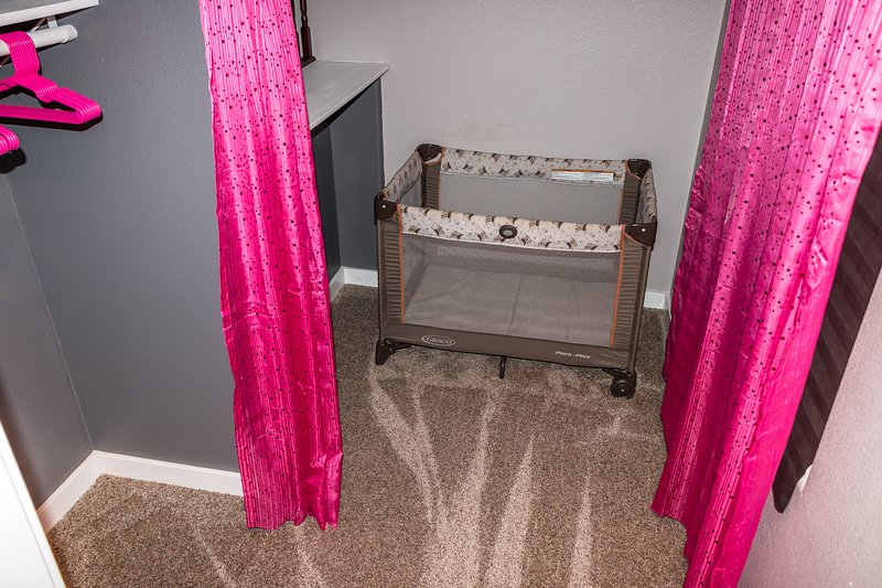 Master bedroom toddler/baby room