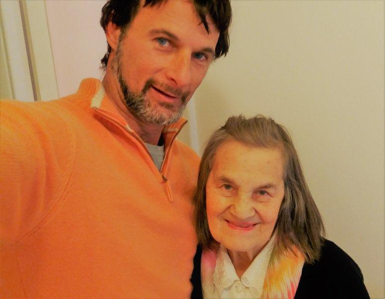Grandma Rita & Luca