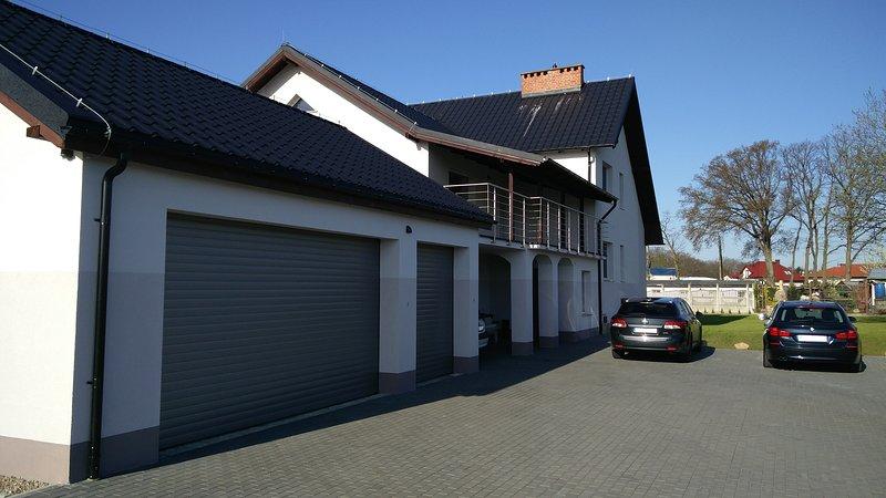 Il parcheggio - vista Nord / Est - Casa di Campagna Grabowo