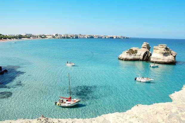 The sea of Salento