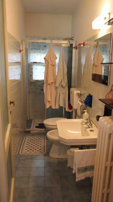 Artículos para ducha, en la planta baja