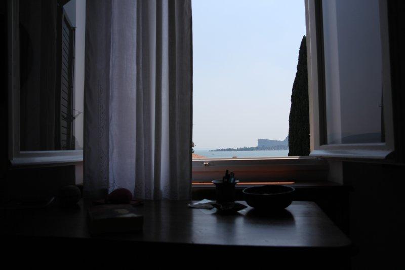 Golfo desde la sala de dos camas king-size en el primer piso
