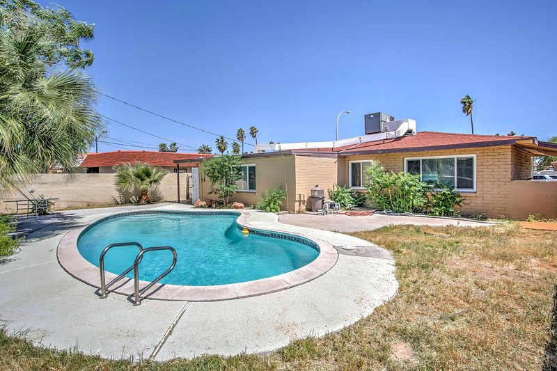 The best of Las Vegas awaits at this vacation rental home with a private pool!