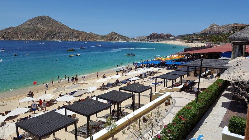 Vista de la playa El Médano.