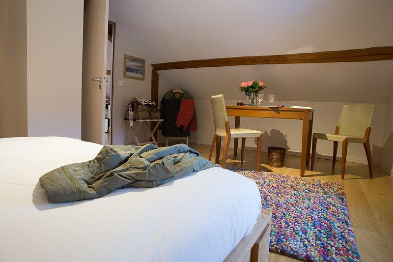Profitez d'une chambre indépendante de grand confort (lit 160)