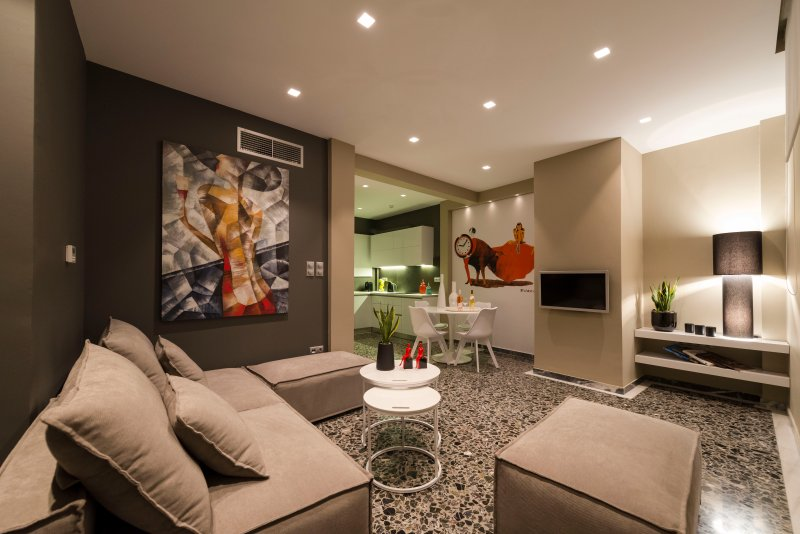 Ma Maison N°1 Penthouse,Acropolis&Lycabettus view,15' to city center,2' to metro, holiday rental in Athens