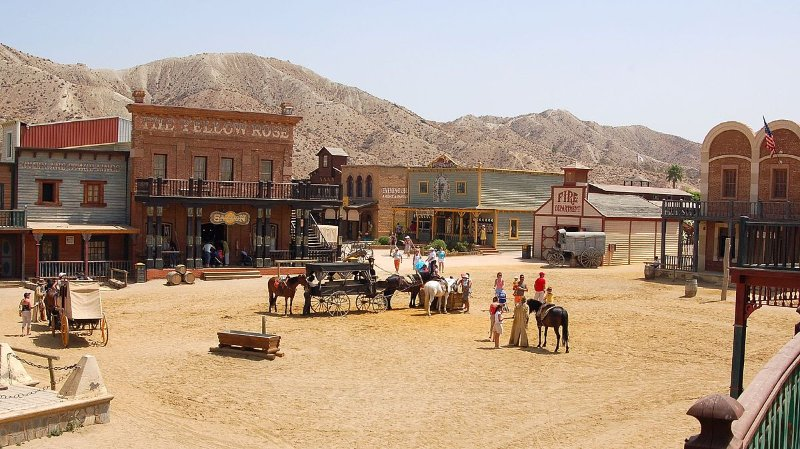 Mini Hollywood - spectacles du Far West!