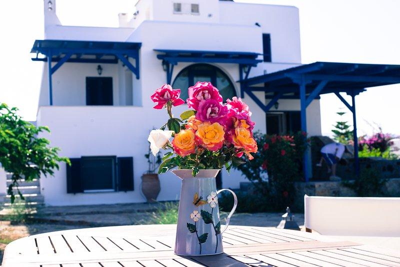 Villa Sorella, for sunlit and carefree vacation, holiday rental in Plaka