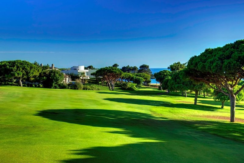 Beautiful golf by the sea near Vilamoura