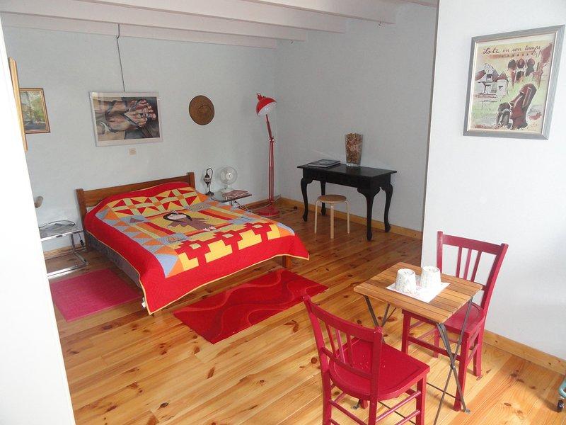 Beautiful room on the ground floor.