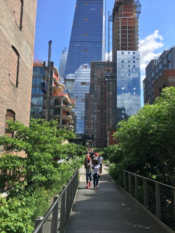 High Line 3 quarteirões de distância