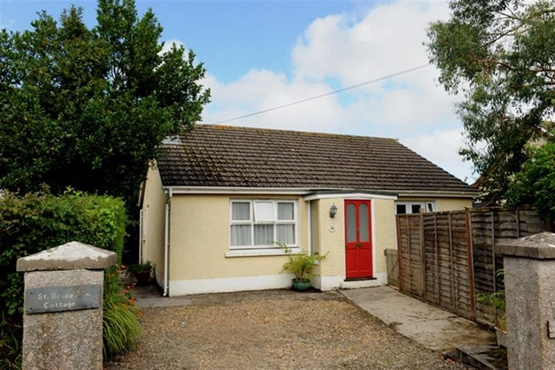 A detached bungalow just 5 minutes walk from beach.