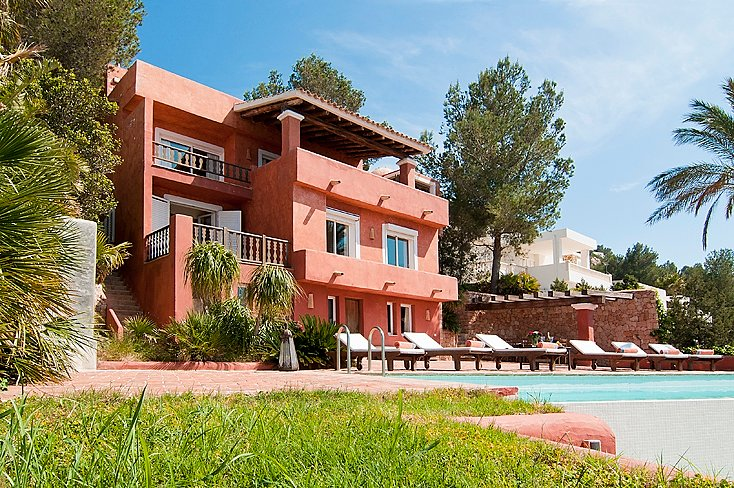 7 bedroom, 7 bathrooms, Can Avy Luxury villas with best sunset of Ibiza, holiday rental in San Lorenzo