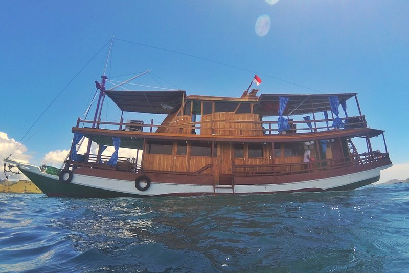 Our vessel to Explore Komodo!