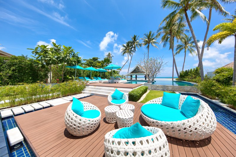 Villa Beachfront Baan Paradise, holiday rental in Maret