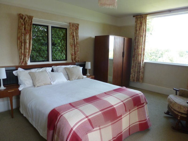 Tudor View Double Bedroom