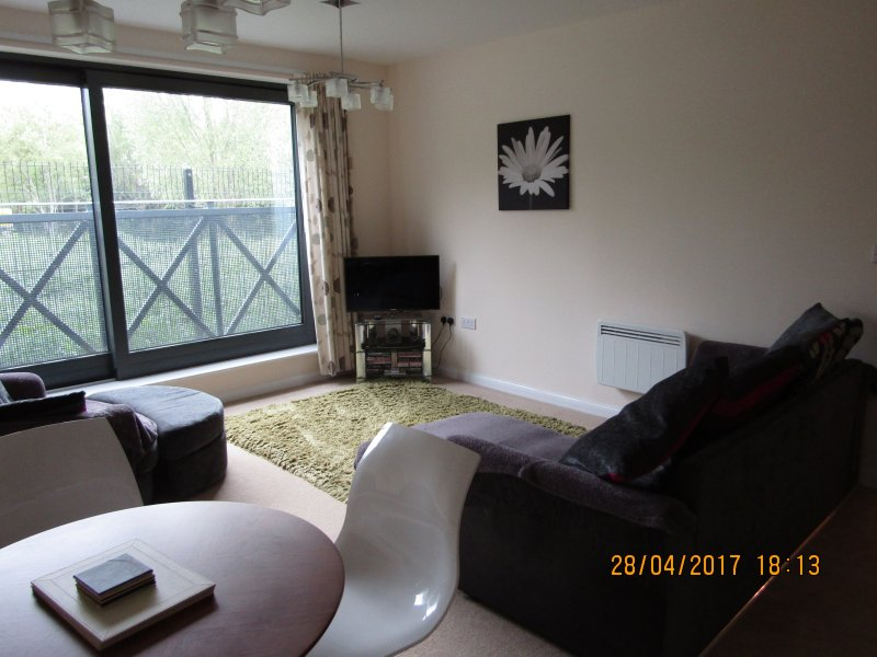 Moonraker Sq - Modern, 2 bed flat in Street, vacation rental in Compton Dundon